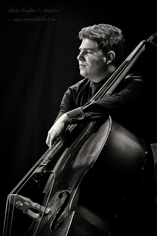 Daniel Dumitrana, upright bass